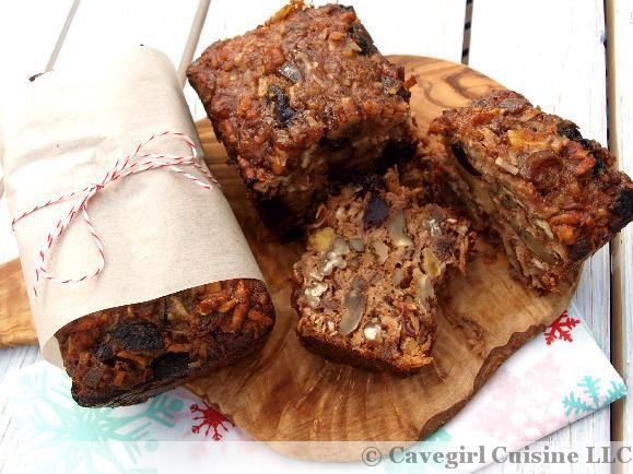 Paleo Fruitcake #holidaysweets #grainfree #fruitcake #paleo
