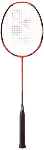 Yonex Voltric 1 Lin Dan Badminton Racquet, Bright Red