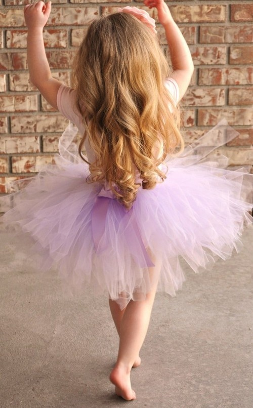 My daughter will wear loooots of tutus. :)