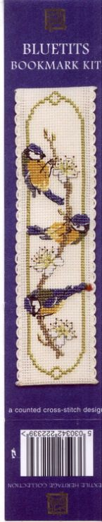Cross-stitch Bluetits Bookmark, part 1...   Gallery.ru / Фото #74 - 45 - markisa81