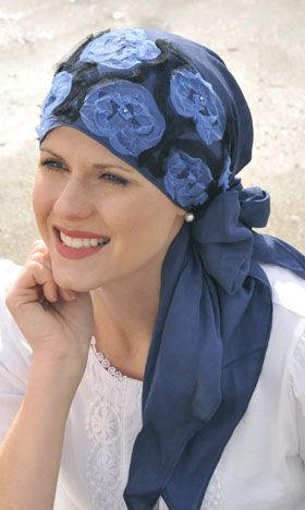 tulle head scarves for cancer patients