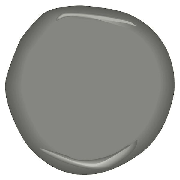 Benjamin Moore, Street Chic CSP-45 A true, urban gray that is as fashion forward as it is classic.