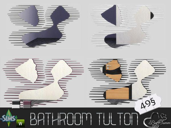 BuffSumm's Tulton Bathroom Wallmirror (Recolor 1)