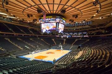 Madison Square Garden unveils its billion dollar facelift - @NBC News
