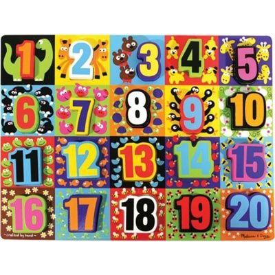 Óriás számok puzzle Melissa & Doug