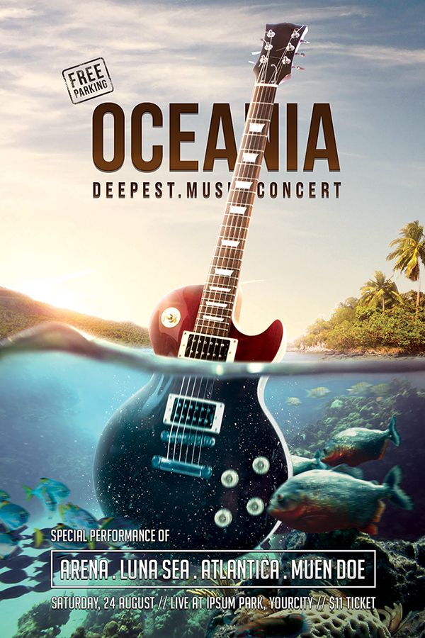 Best 25+ Concert flyer ideas on Pinterest | Music flyer, Flyer and ...
