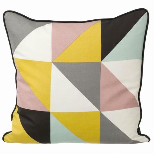 ferm remix cushion geel