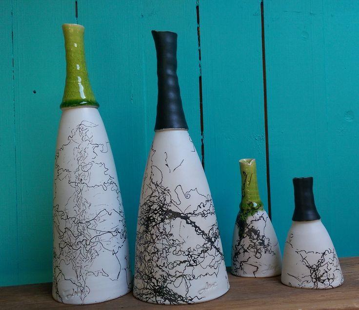 Vaser med hestehår