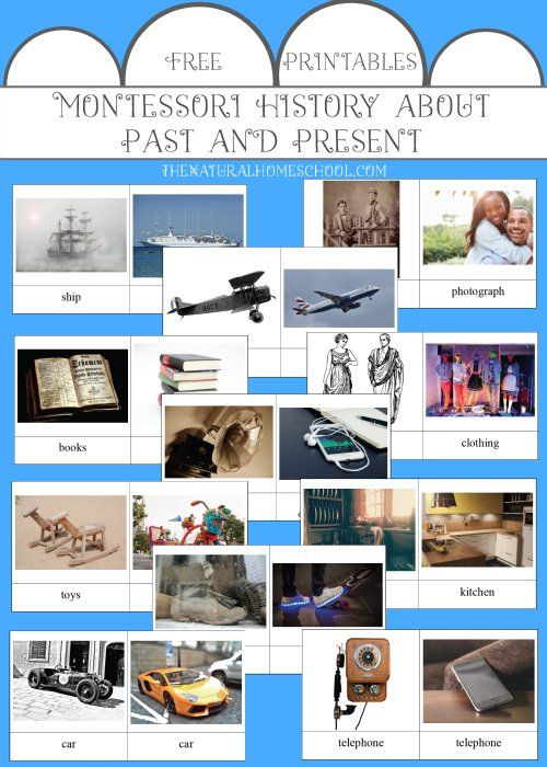 History About Past And Present The Montessori Way Free