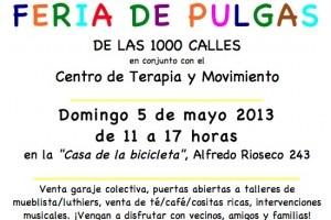 Panorama familiar: Feria de las Pulgas, 5 de mayo