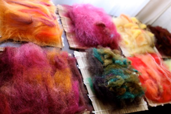 how to make felt with children waldorf moms roving