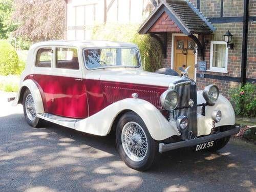 1937 Alvis 3½-Litre Crested Eagle TB Saloon