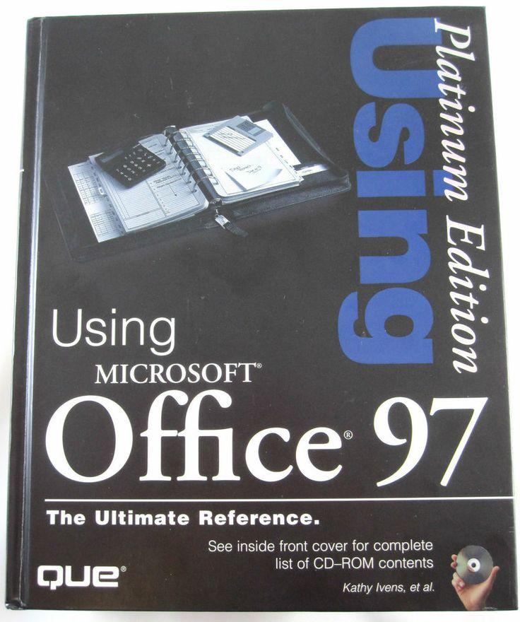 Using Microsoft Office 97 Platinum Edition : Platinum Edition by Que