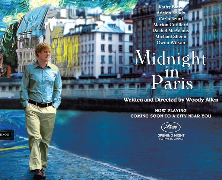 Mark and I watched this on New Year's Eve, and we loved it because it is so rich in the Paris Salon culture of artists, writers, and photographers!