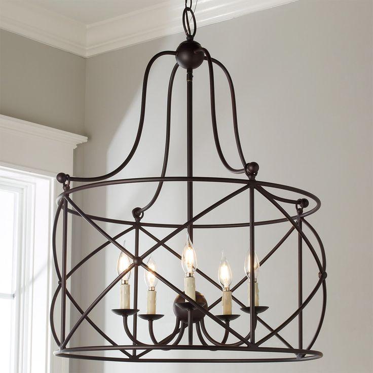 Farmhouse Dining Room Lighting: Lattice Arch Lantern - 5 Light In 2019
