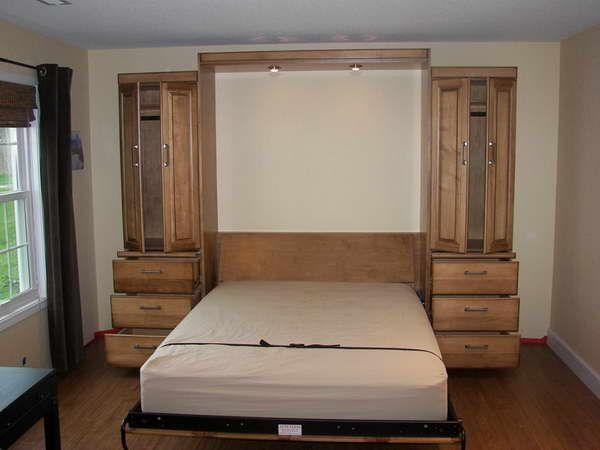 18 best bedroom images on pinterest murphy bed ikea bedroom and for the home. Black Bedroom Furniture Sets. Home Design Ideas