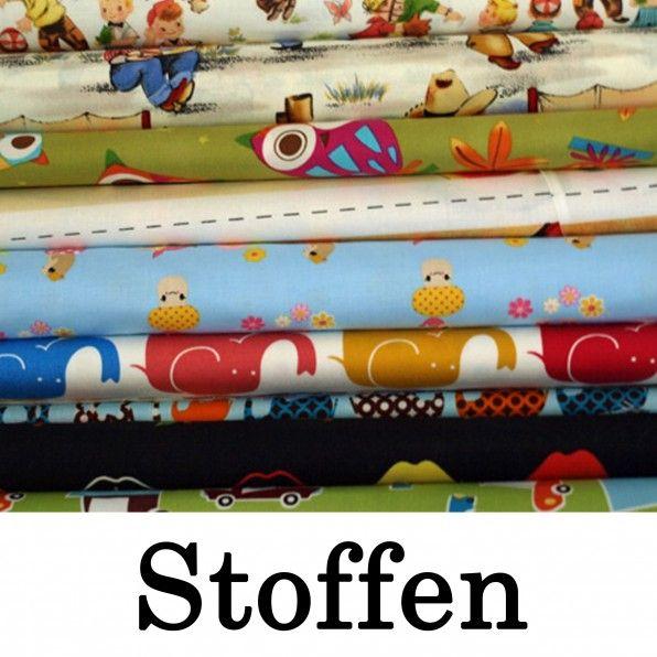 website met stoffen en een verzameling links naar gratis naaipatronen