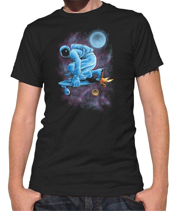 Men's Space Skateboarder T-Shirt
