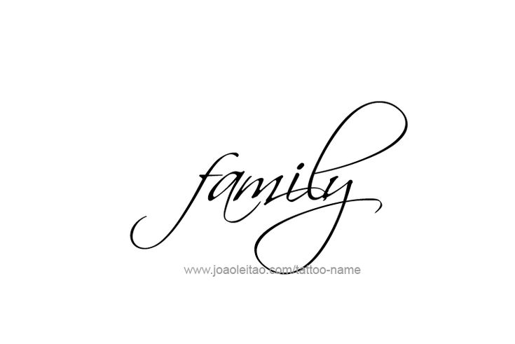 Best 25+ Family name tattoos ideas on Pinterest | Tatto ... The Word Family Tattoo Pics