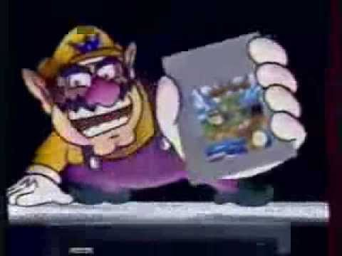 Super Game Boy French TV Commercial Featuring Wario Land - Super Game Boy
