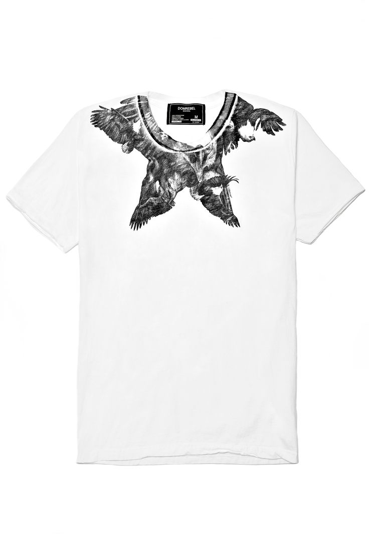 Hawk Star T- Shirt - Dom Rebel