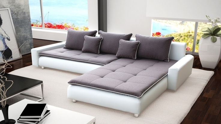 Leather And Material Corner Sofas