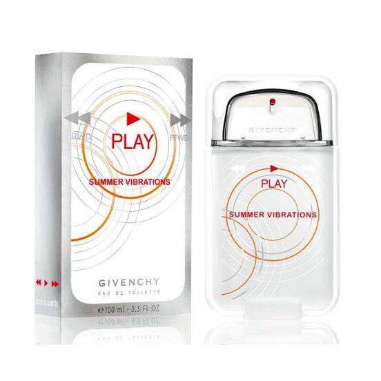 Play Summer Vibrations for Men от Givenchy #GivenchyForMen  Новую ароматную композицию Givenchy Play Summer Vibrations (Живанши Плэй. Летние вибрации), появившуюся в 2010 году, можно смело назвать новым направлением торгового дома Givenchy.  Аромат Живаньши Плей Саммер Вибрейшн – это летний, праздничный и