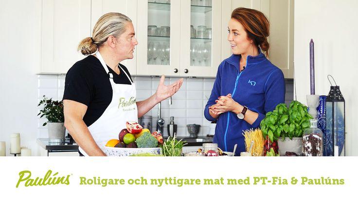Sofia Pt-Fia Sjöström och Fredrik Paulún dukar upp en buffé av populära drycker, där de tillsammans vägleder er kring bra och aktiva dryckesval i vardagen.