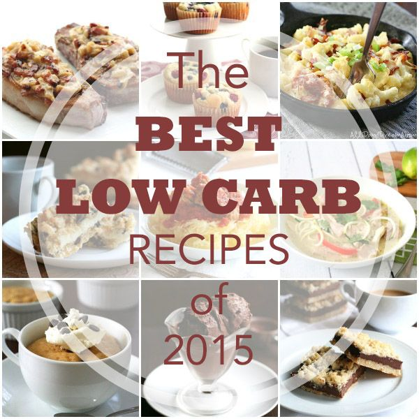 Best low carb, grain-free, keto recipes of 2015. So many great choices!