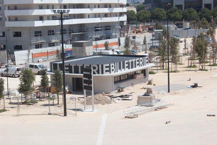 Signalétique Stade Vélodrome Marseille, studio b headroom, Dream On