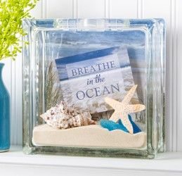 Life's a beach when you craft this Beach DIY Glass Block! Collect your memories from your last ocean trip and make it with supplies from Pat Catan's.