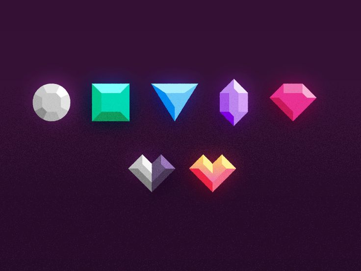 Gemming, hard, with some new rarities for NeonMob.   Turns out, close to 5% of people are color blind, so you gotta break those shapes up and make em all unique.