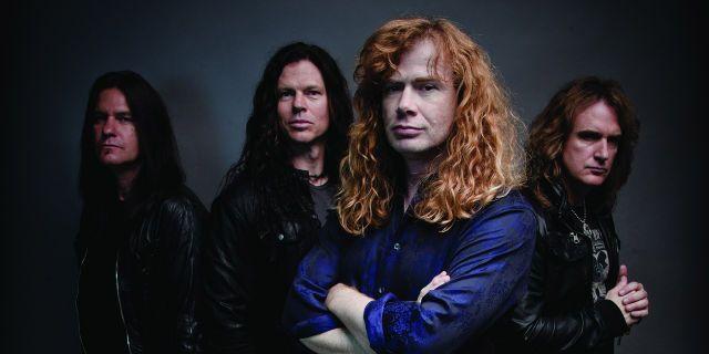 Megadeth Band Hair