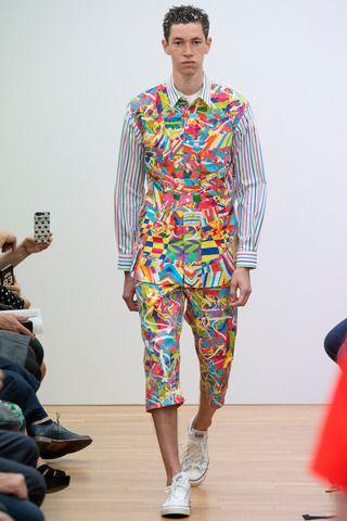 Comme des Garçons Shirt Spring 2015 Menswear Collection Slideshow on Style.com: