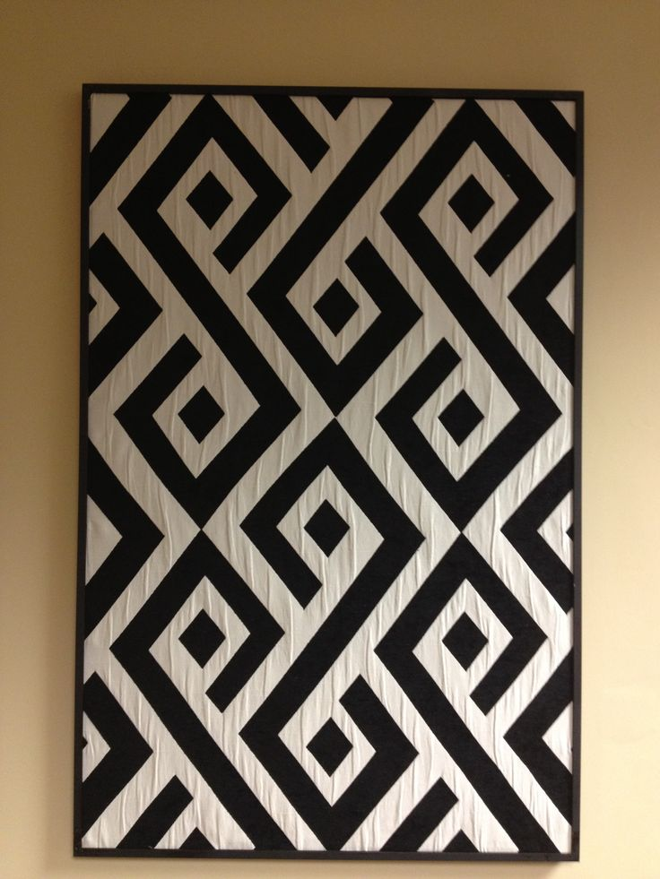 'Carat' design by De Leo as displayed at Showtime Dec 2012. I see lots of quilt potential here!