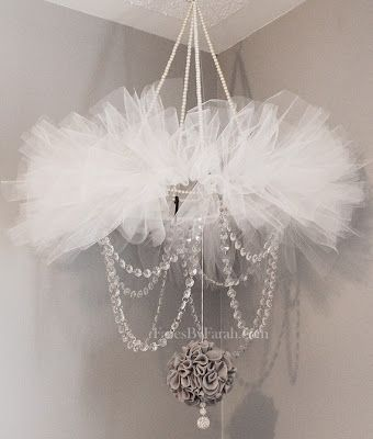 661 best mobile images on pinterest nurseries child room and this tutuchandeliermobile is so gorgeous found on facesbyfarah aloadofball