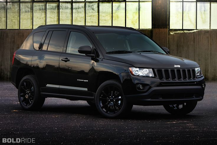 I always thought the Jeep Compass looked like clam shell on wheels, but this particular image makes me almost consider one. Especially in black.