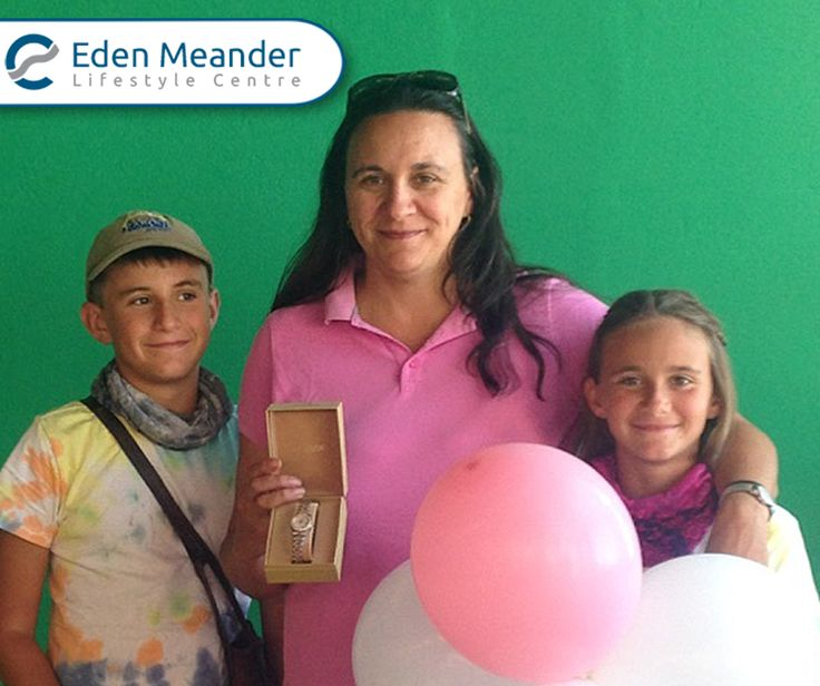 Congratulations to our winner of the #Bardins Citizen Watch in our pop-a-balloon competition. #EdenMeanderLifeStyleCentre