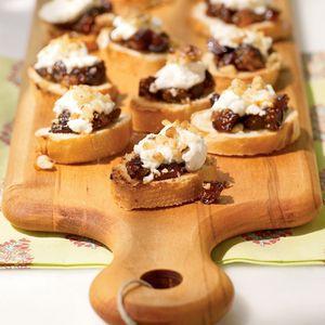 Fig and Goat Cheese Bruschetta | MyRecipes.com