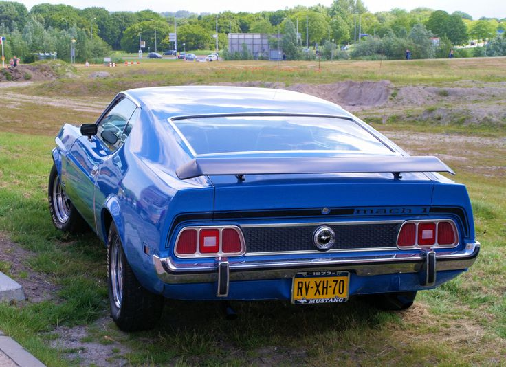 1973 - Ford Mach 1 Mustang