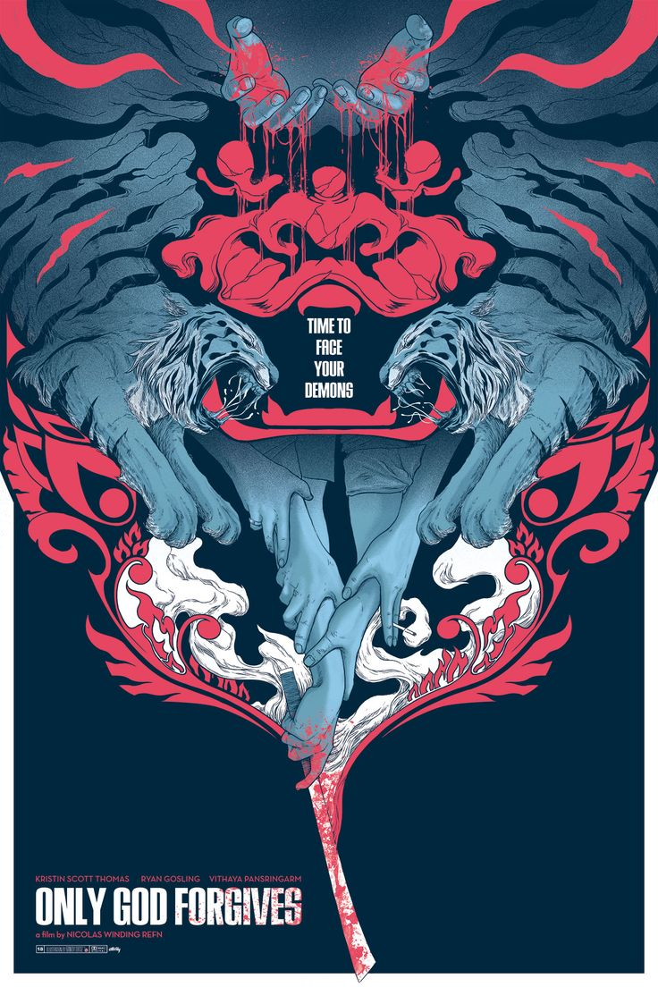 Only God Forgives poster, by Randy Ortiz.