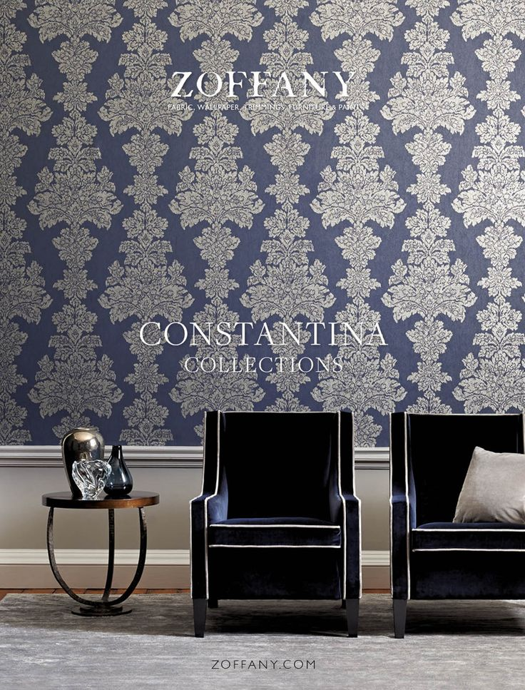 CONSTANTINA MARCH/APRIL 2015 The ad campaign shows sophisticated contemporary wallpapers that are brought to life through experimentation with innovative inks and finishes and the introduction of new textural ground papers.
