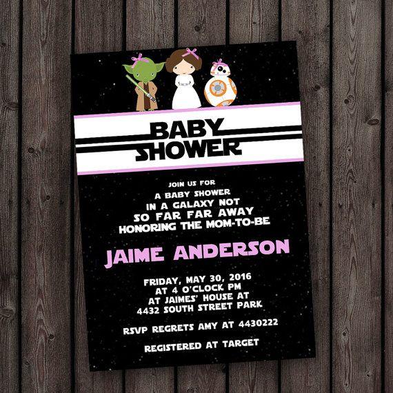Star Wars Baby Shower Invitations 20pcs Custom Star Wars R2d2 – Star Wars Birthday Invitation Wording