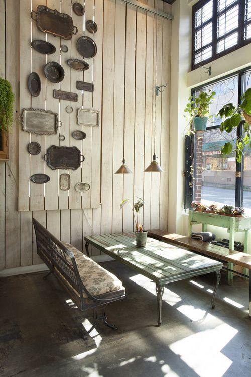 fantastic rustic and vintage cafe design ideas httpwwwanebrefcom - Cafe Design Ideas