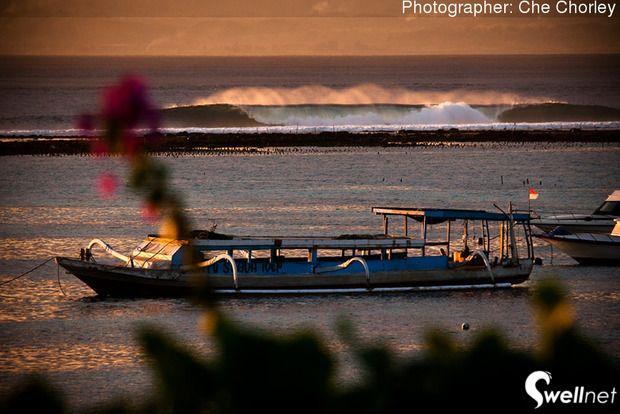 Afternoon glow at Nusa Lembongan