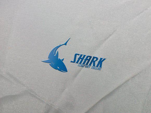 Shark Logo by eSSeGraphic on @creativemarket