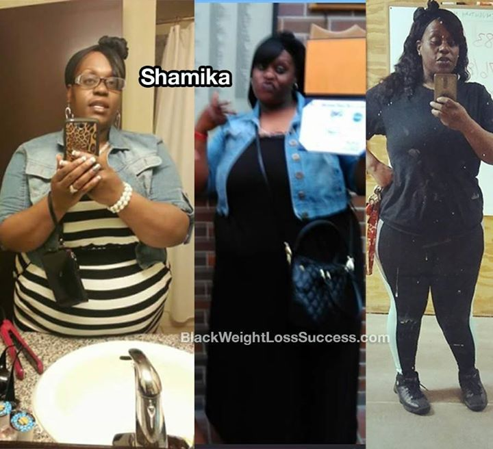 Shamika lost 83 pounds. www.blackweightlosssuccess.com/shamika-lost-83-pounds/ After being told that she was on the borderline for high blood pressure, she began to rethink her eating habits. Not only has she released the weight, but exercise has helped her deal with stress and anxiety. @fat_to_fit574 #follow #women #men #babies #instagram #love #kimkardashian  #shopaholics #ootd #gooddeal #ootd #fashionaddict #instastyle #currentlywearing #birthday #red  #sweet #followme #me #cute…