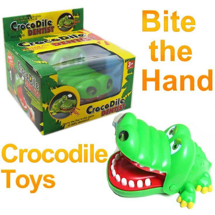 Бар Крокодил Стоматолог Детский Те Трюк двуспальная Bites Семейные Игры Игрушки FSWOB