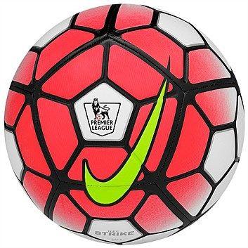 Rebel Sport - Nike Strike Football Orange/White 5