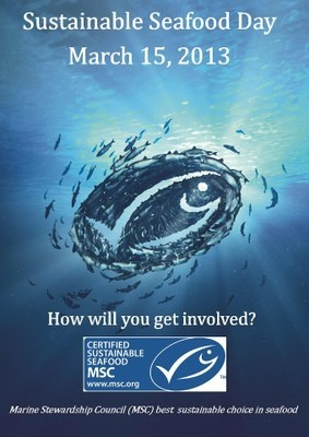 Sustainable seafood day 2013 #sustainableseafoodday #msc